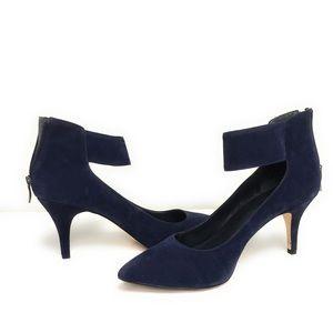 BCBG Generations Blue Suede Shoes 10M